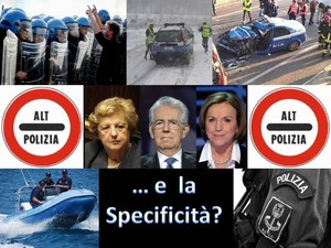 specificitàpolizia